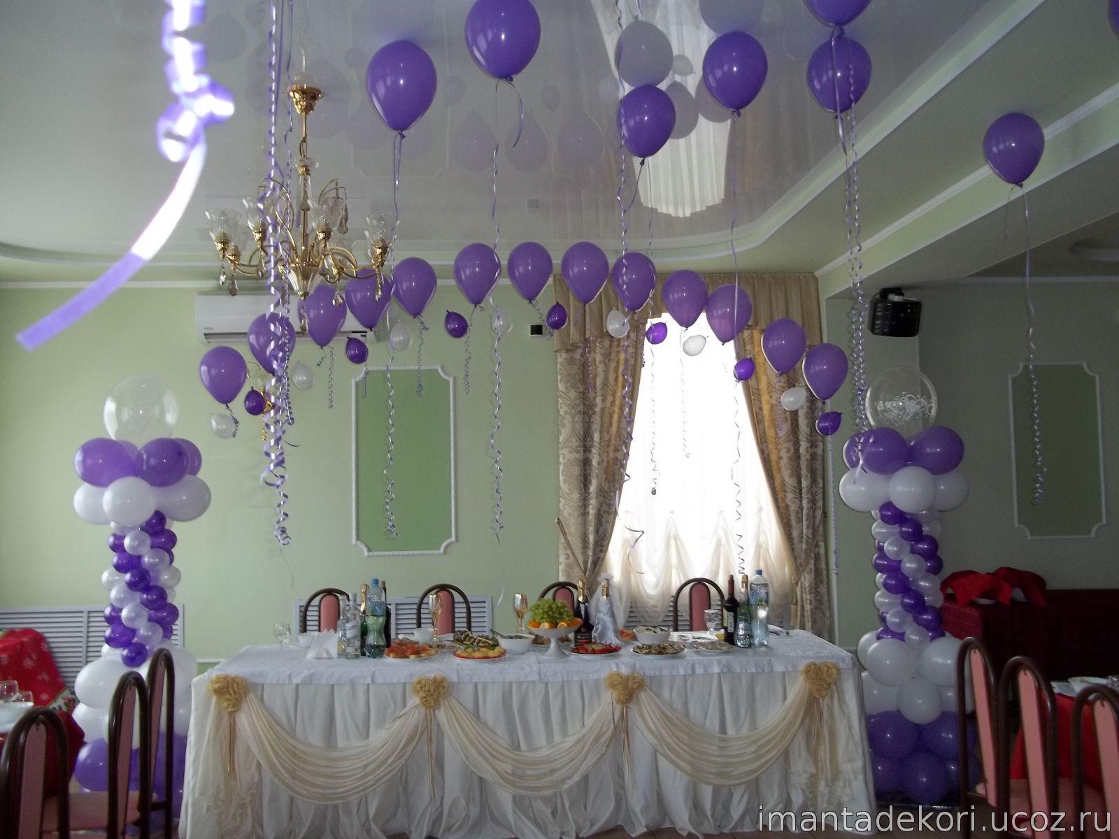 Свадьба украшения шарами фото цены